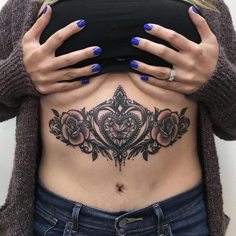 Sternum Tattoo 73