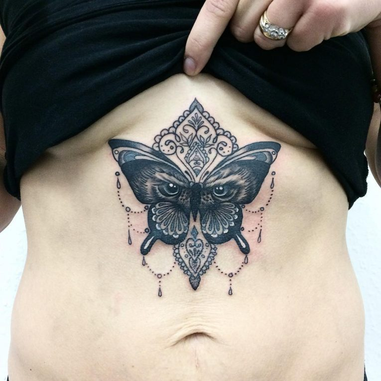 Sternum Tattoo 75