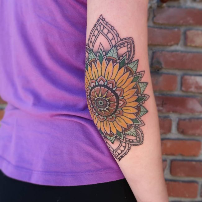 Sunflower Tattoo 63