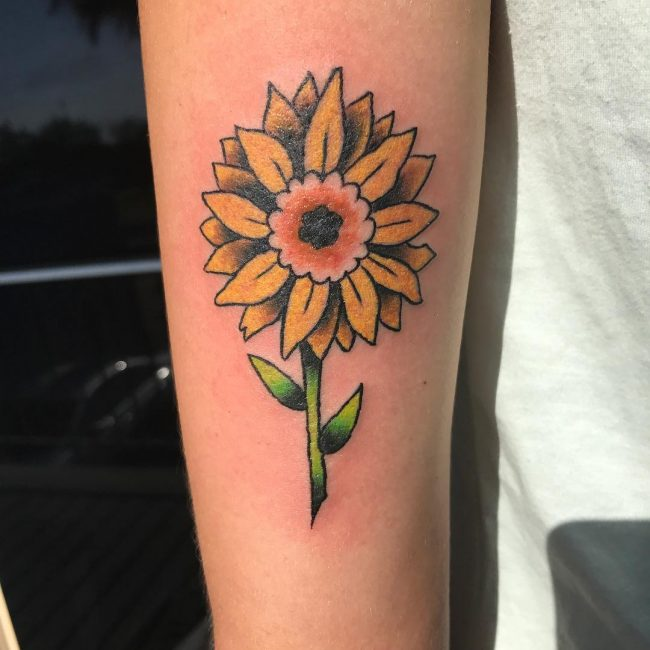 Sunflower Tattoo 65