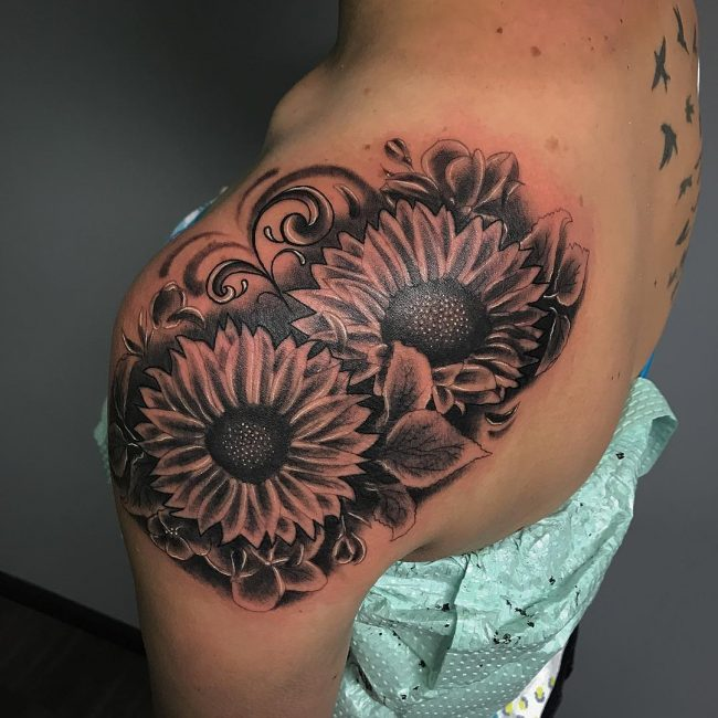 Sunflower Tattoo 66
