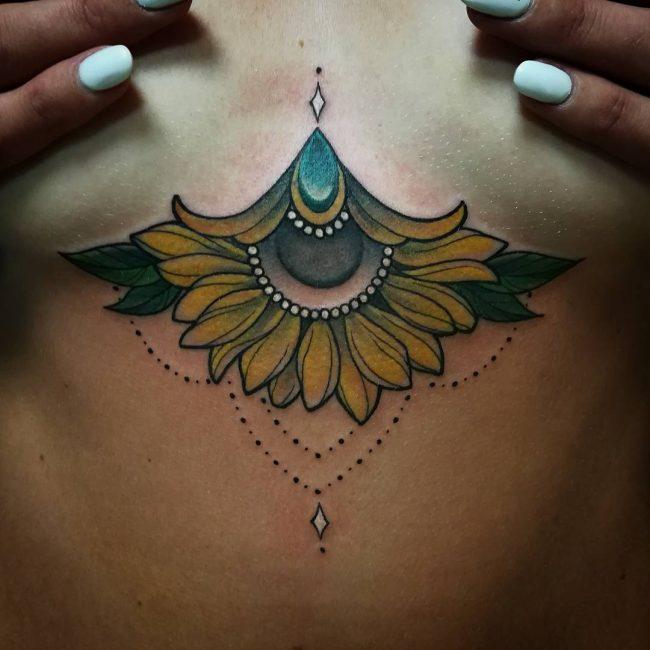 Sunflower Tattoo 67