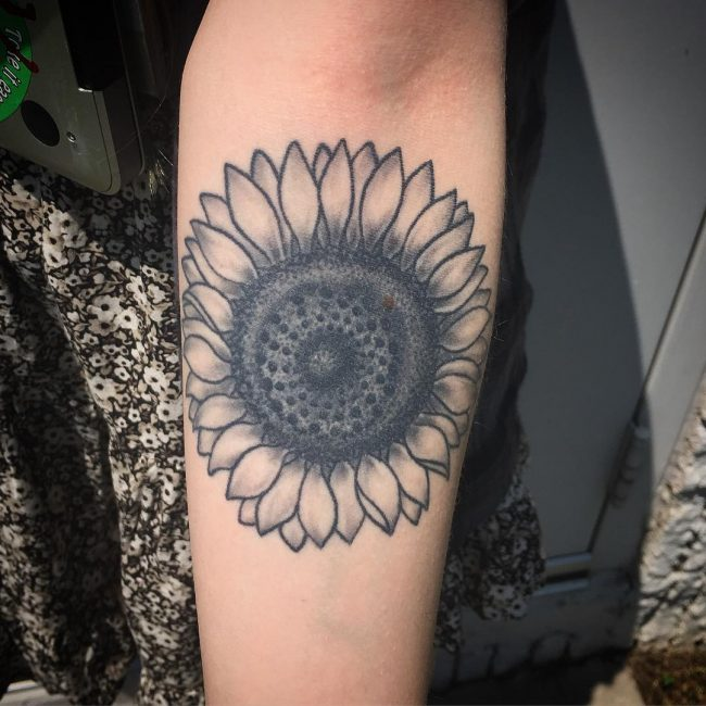 Sunflower Tattoo 68