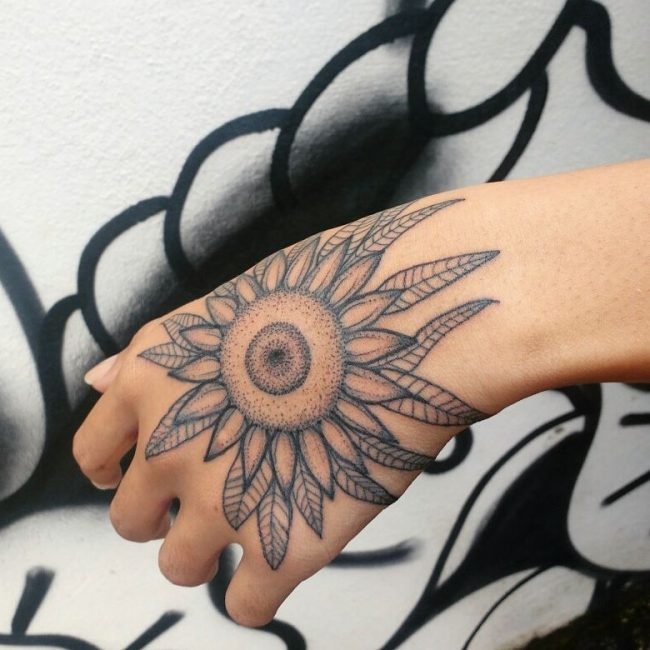 Sunflower Tattoo 70