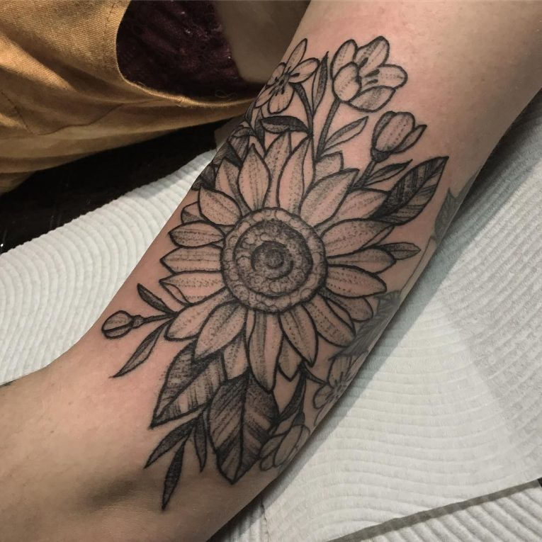 Sunflower Tattoo 71