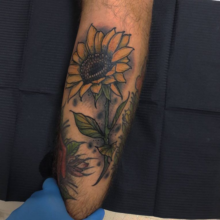 Sunflower Tattoo 72