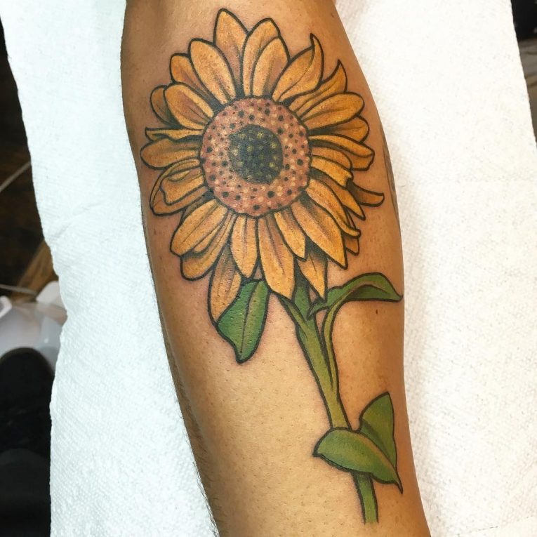 Sunflower Tattoo 73