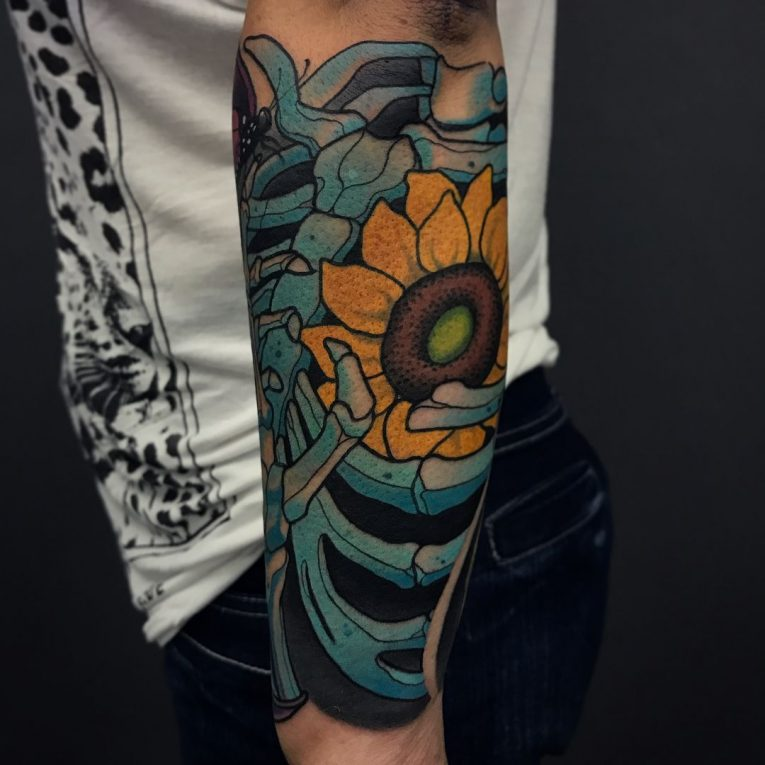 Sunflower Tattoo 74