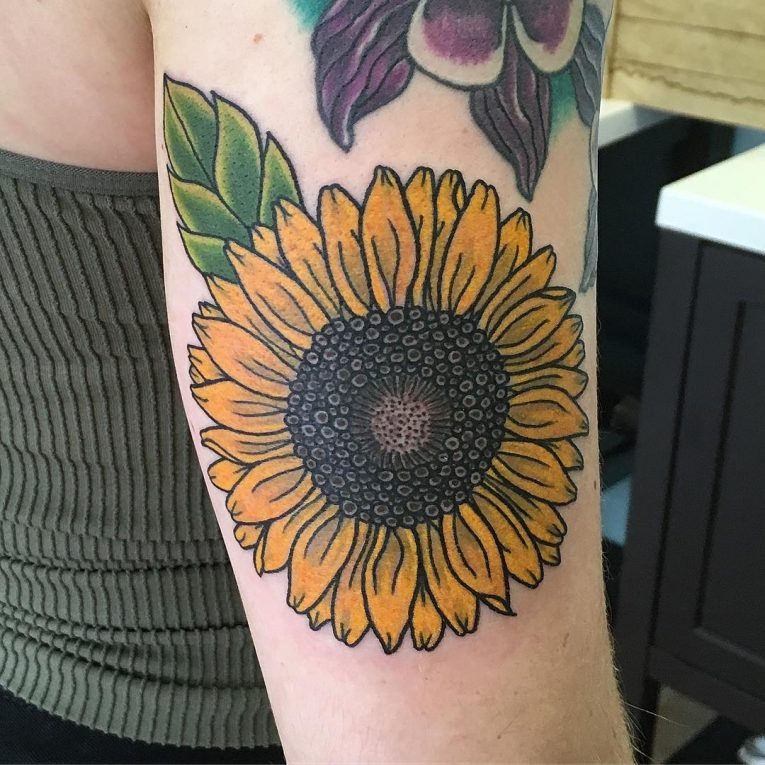 Sunflower Tattoo 75