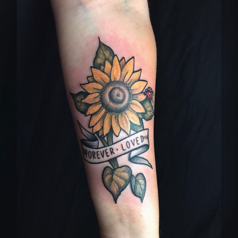Sunflower Tattoo 76