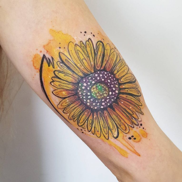 Sunflower Tattoo 79