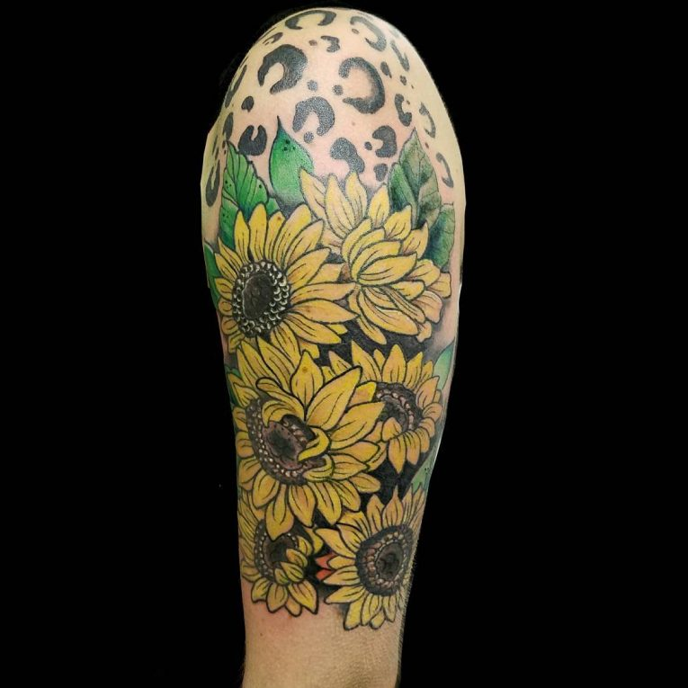 Sunflower Tattoo 80