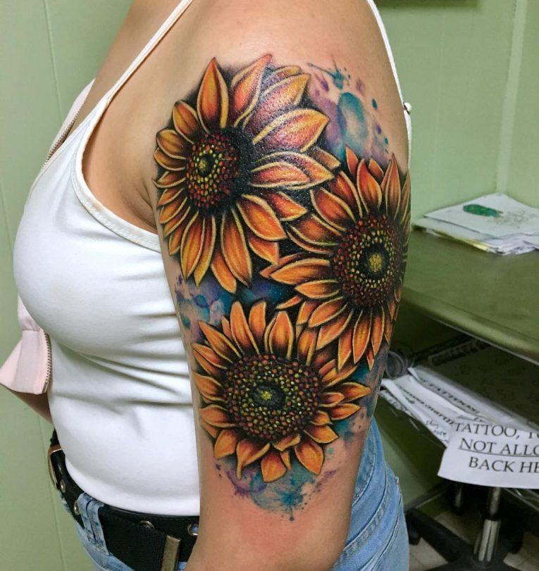 Sunflower Tattoo 82
