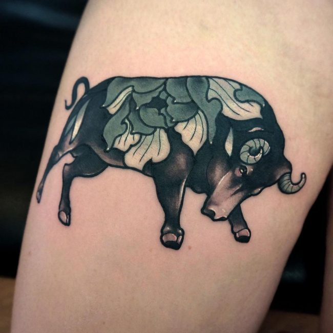 Taurus Tattoo 51