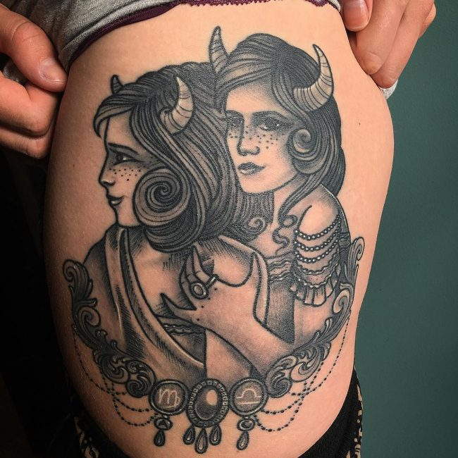 Taurus Tattoo 53