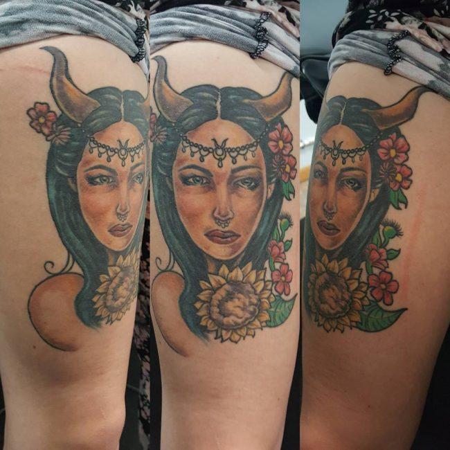 Taurus Tattoo 55