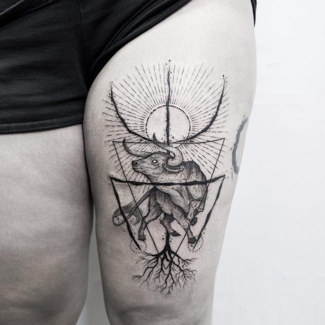 70 astrological taurus tattoo designs strongwilled