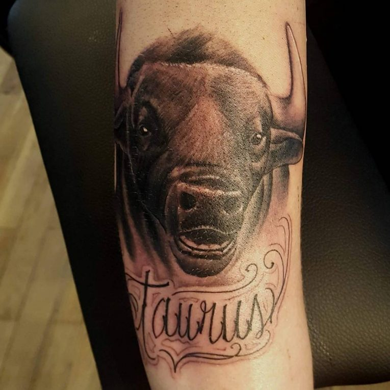 Taurus Tattoo 61