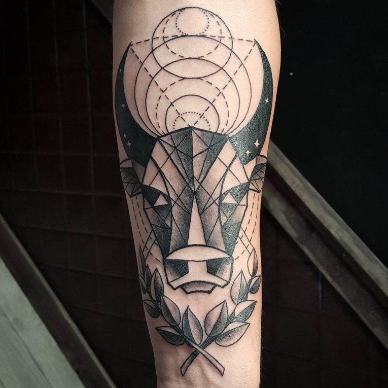 Taurus Tattoo 62