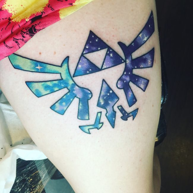Triforce Tattoo 67