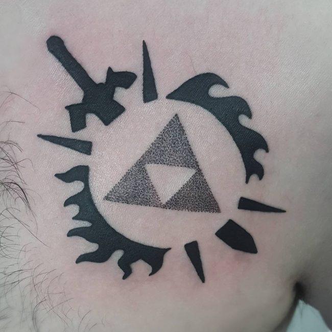 Triforce Tattoo 69