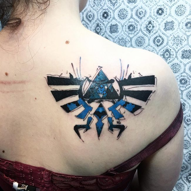Triforce Tattoo 73