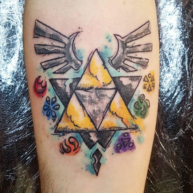 Triforce Tattoo 74