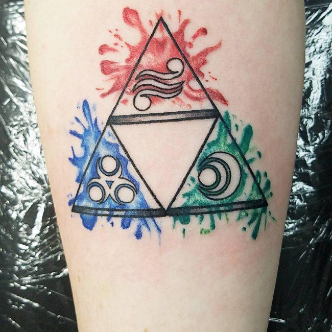 Triforce Tattoo 75