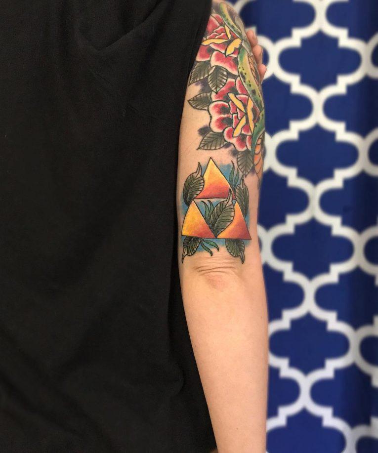 Triforce Tattoo 78