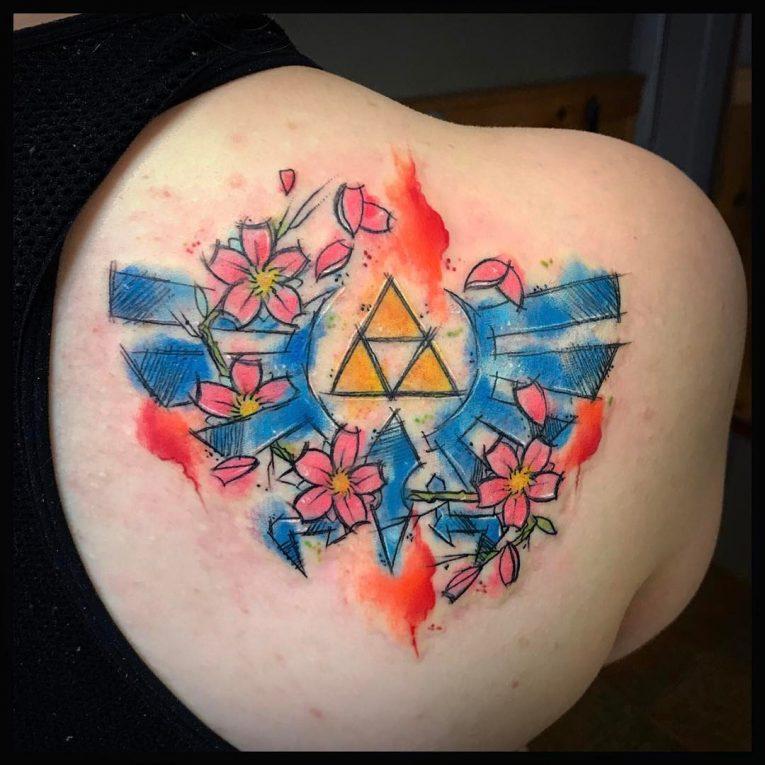 Triforce Tattoo 81