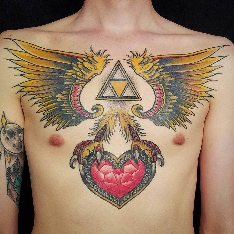 Triforce Tattoo 84