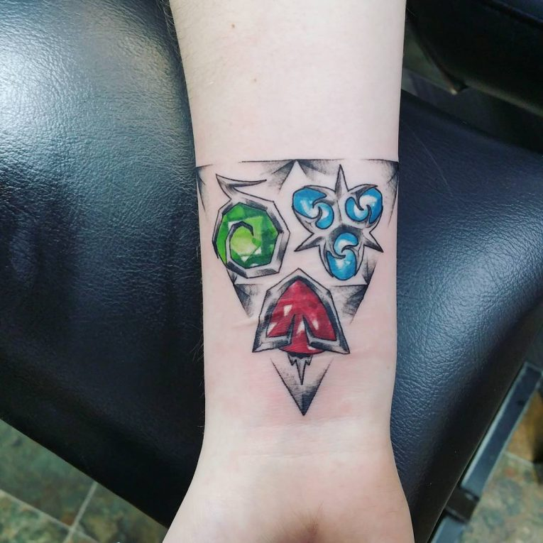 Triforce Tattoo 87