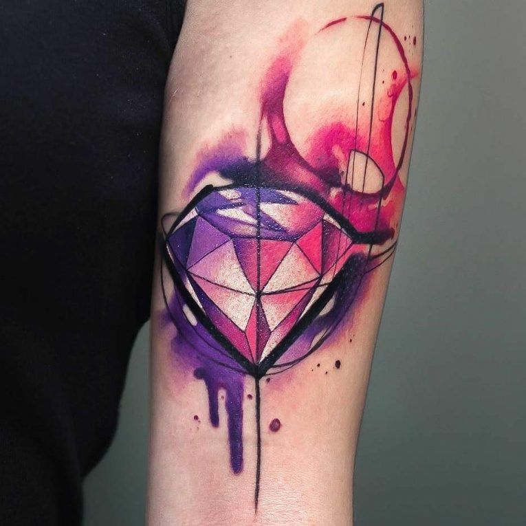 130+ Best Watercolor Tattoo Designs & Meanings - Unique Art (2019)