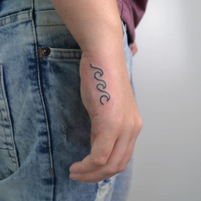 Wave Tattoo 72