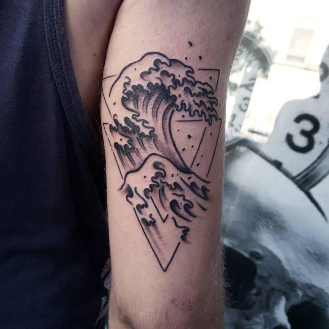 Wave Tattoo 78