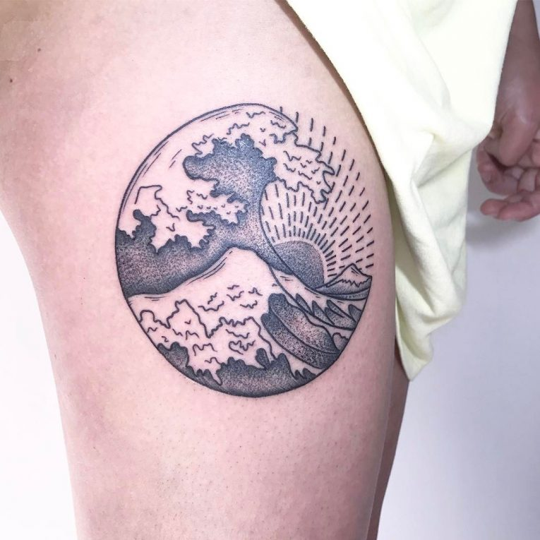 Wave Tattoo 81