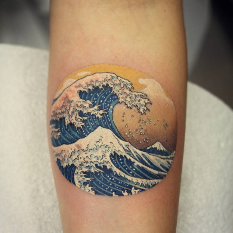 Wave Tattoo 82
