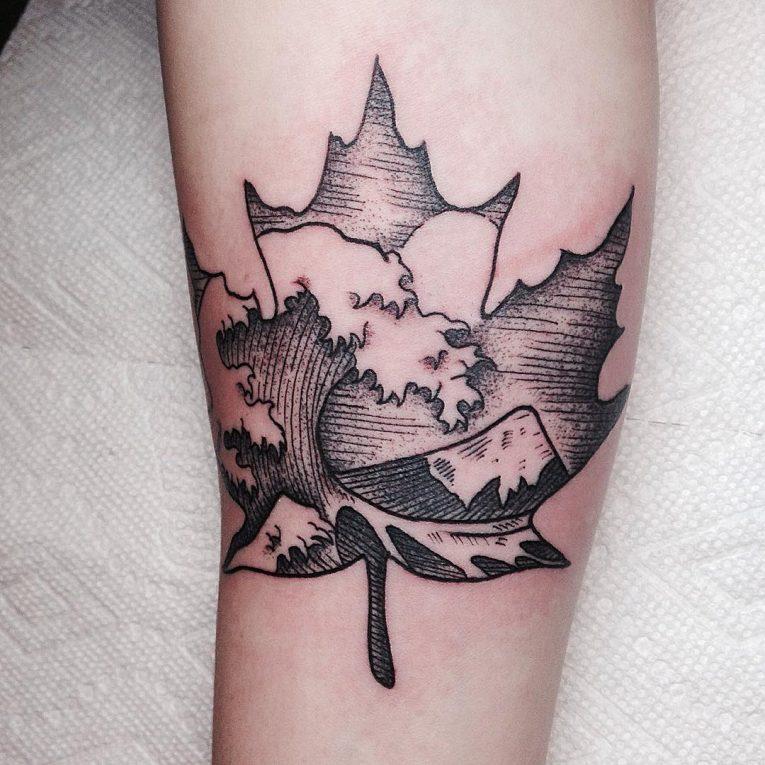 Wave Tattoo 84
