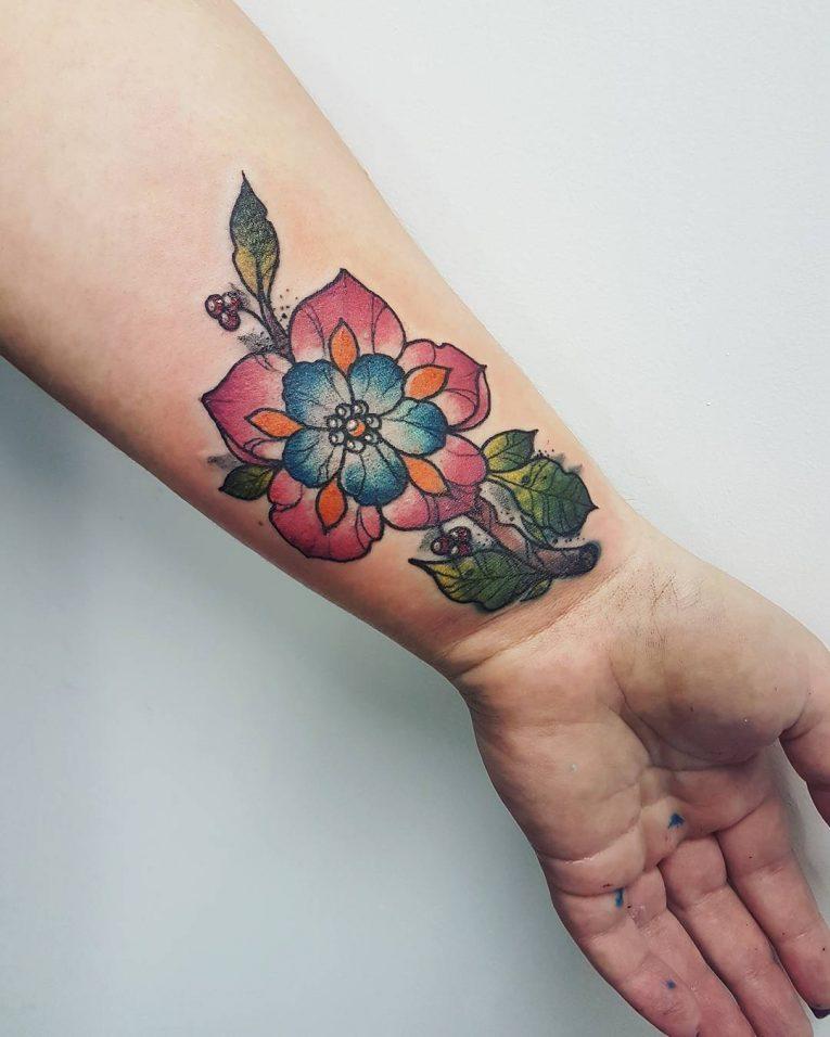Wrist Tattoo 86