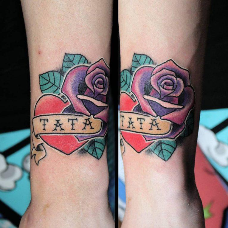 Wrist Tattoo 87