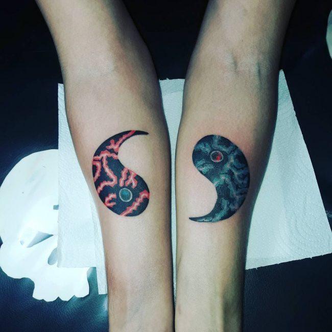 Yin Yang Tattoo 104