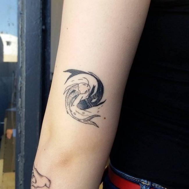 Yin Yang Tattoo 105