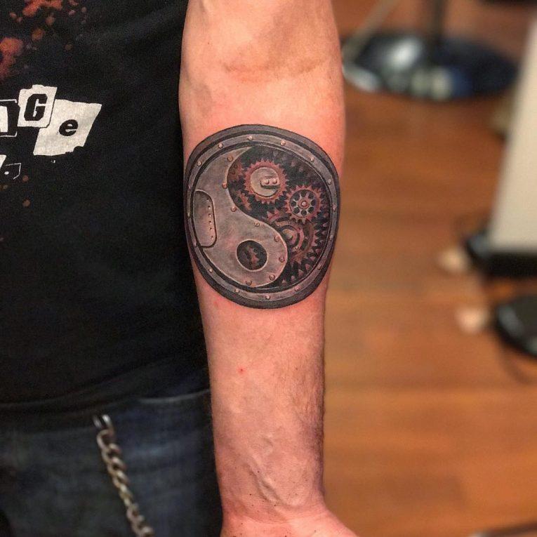 Yin Yang Tattoo 106