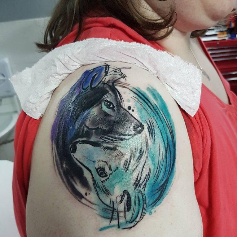 Yin Yang Tattoo 107