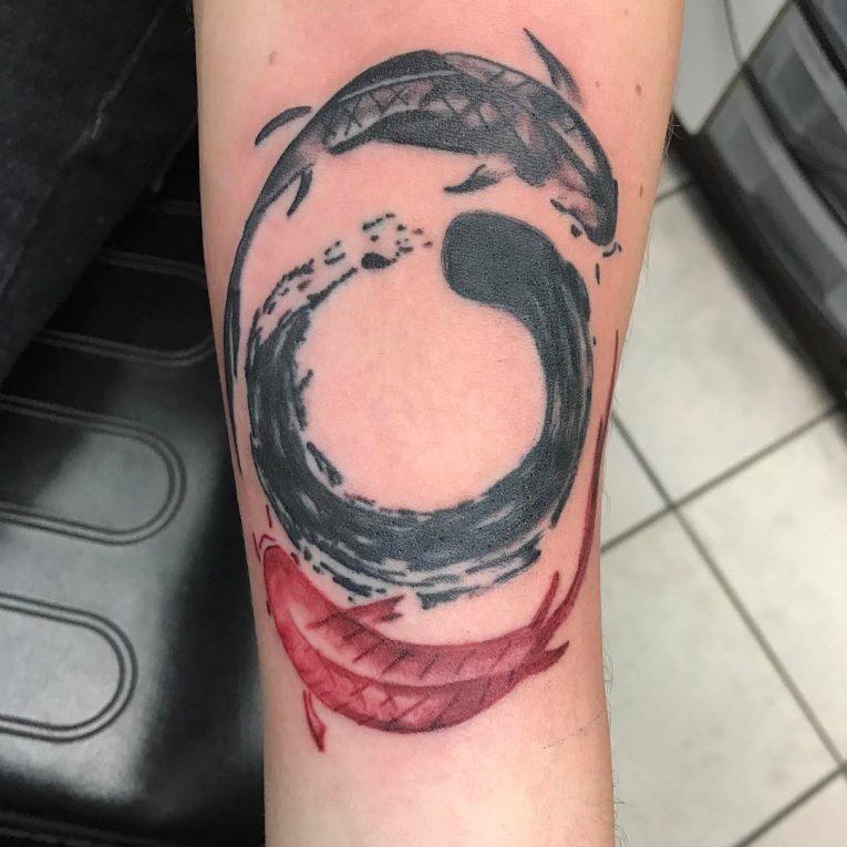 Yin Yang Tattoo 116