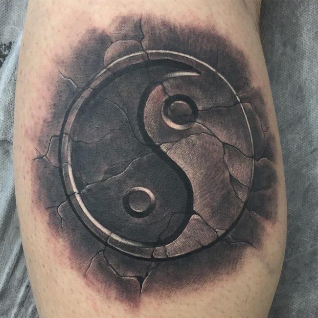 Yin Yang Tattoo 96