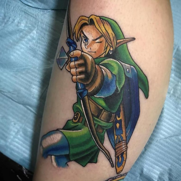 75+ Amazing Legend Of Zelda Tattoos–Gaming Has Never