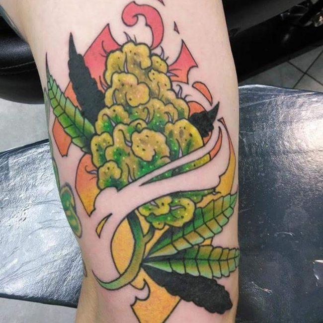 Weed Tattoo 41