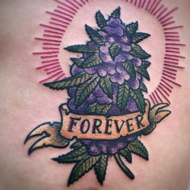 Weed Tattoo 42