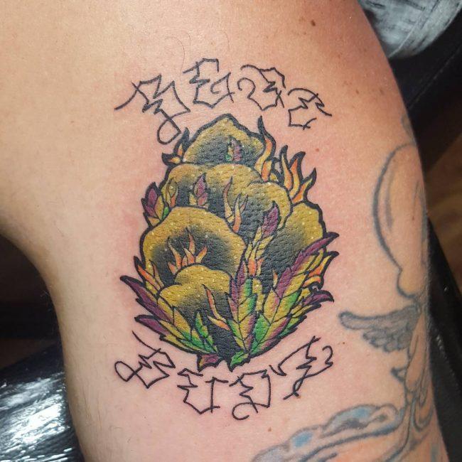 Weed Tattoo 43